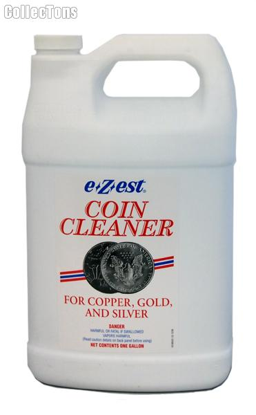 E-Z-EST Jeweluster Gallon Size Coin Cleaner