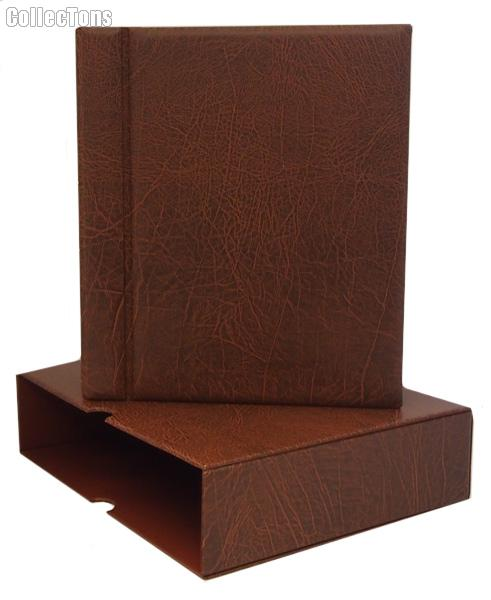 Lighthouse Vario-G Binder and Slipcase in Brown