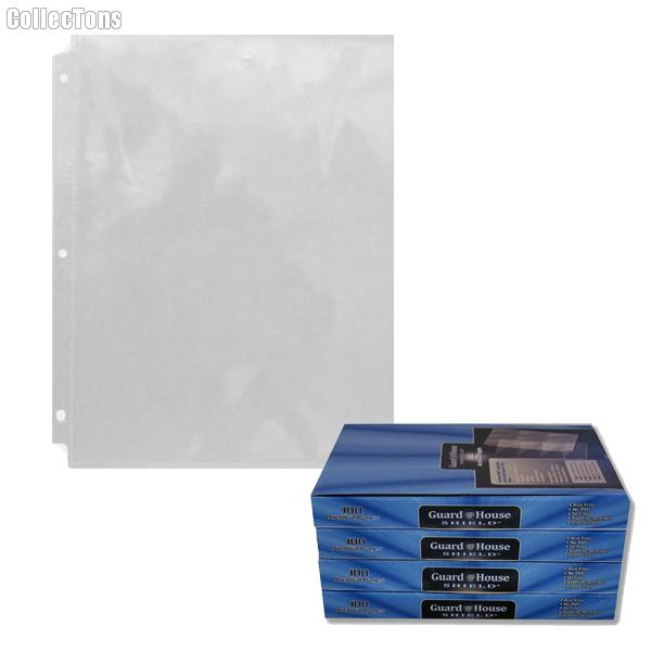 1 Pocket Archival Pages by GuardHouse Shield - Box of 100 Pages