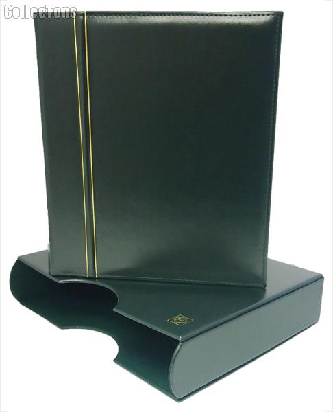 Lighthouse Classic GRANDE Coin Binder & Slipcase Green