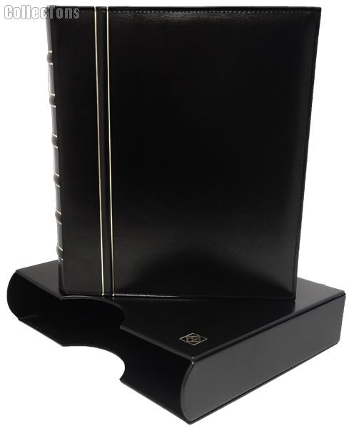 Lighthouse Classic GRANDE Coin Binder & Slipcase Black