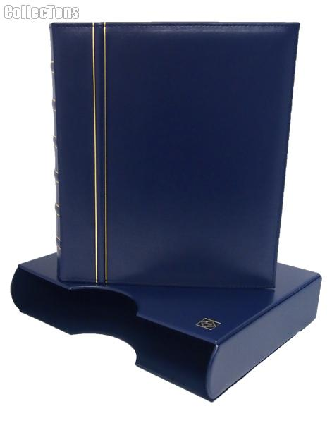 Lighthouse Classic GRANDE Coin Binder & Slipcase Blue