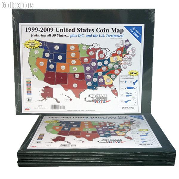 Littleton 50 State Quarters Large Display Map LGB1 on quarter display map, 50 state quarters sheet printable, 50 state flag map, national park quarter map, 50 states coin map, state series quarters collector map, 50 state name map, us quarter map, quarter collection map, all 50 states and capitals map,