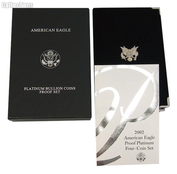 2002-W American Eagle Platinum Proof Set OGP Replacement Box and COA