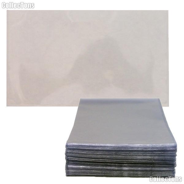 100 Postcard Sleeves 4 x 6 1/4 Rigid Clear
