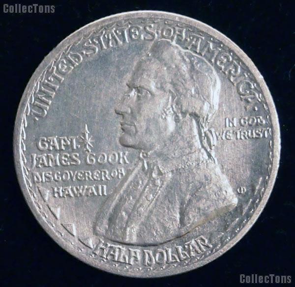 Hawaiian Sesquicentennial Silver Commemorative Half Dollar (1928) in XF+ Condition