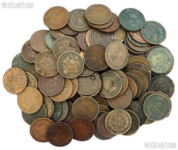 100 Cull Indian Cents