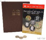 Franklin Half Dollar Coin Collecting Starter Set with Album, Book, and Coins