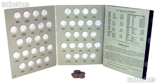 Buffalo Nickels Coin Collecting Starter Set with Folder and Coins