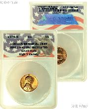 CollecTons Keepers #4: 1970-S Lincoln Memorial Cent SMALL DATE Certified in Exclusive ANACS Brilliant Uncirculated Holder