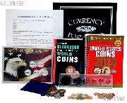 Boy Scouts Coin Collecting Merit Badge Complete Coin & Supply Set EVERYTHING You Need!