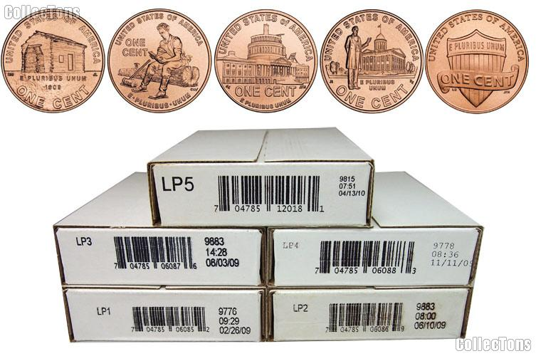 NF 2013 P BOX  50 Roll   Lincoln Penny NEW HOT