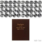 National Park Quarter Complete Set 2010-2014 P & D Quarters (50 Coins) in Dansco Album 7145