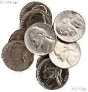 1942-D Jefferson Nickel in AU to UNC Condition