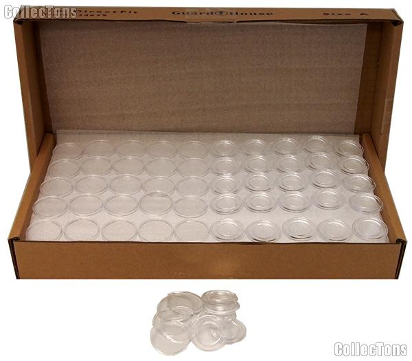 250 Guardhouse Coin Capsules Direct Fit Coin Holders for DIMES
