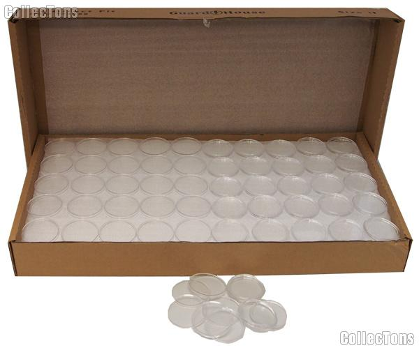 250 Guardhouse Coin Capsules Direct Fit Coin Holders for LARGE DOLLARS