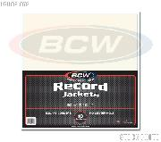 Paper Record Jackets for 33 RPM Albums by BCW