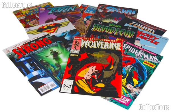 Comic Books Bundle of 18 Different Titles from Various Franchises
