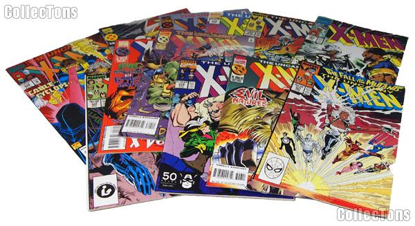 X-MEN Comic Books Bundle of 12 Different Titles from X-MEN Franchise