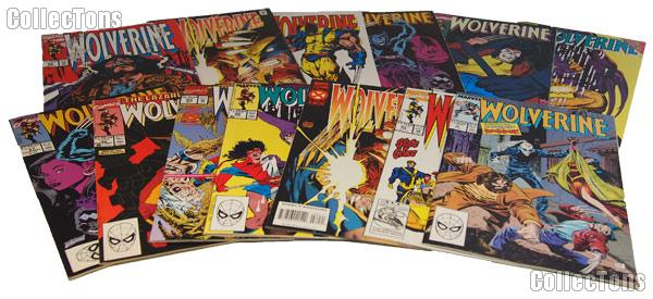 WOLVERINE Comic Books Bundle of 12 Different Titles from WOLVERINE Franchise