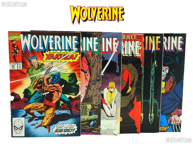 WOLVERINE Comic Books Bundle of 6 Different Titles from WOLVERINE Franchise