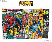 SPIDERMAN Comic Books Bundle of 6 Different Titles from SPIDERMAN Franchise