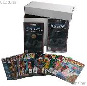 Comic Book Collecting Starter Set Kit with Box, Boards, Bags, and Comics