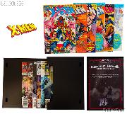 X-MEN Comic Book Collecting Starter Set Kit with Stor-Folio Portfolio and Comics