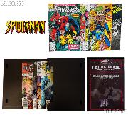 SPIDERMAN Comic Book Collecting Starter Set Kit with Stor-Folio Portfolio and Comics