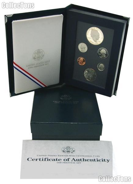 1990 Prestige Proof Set - 6 Coins