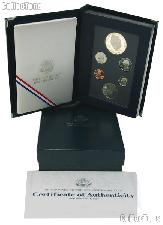 1990 Prestige Proof Set - 6 Coins