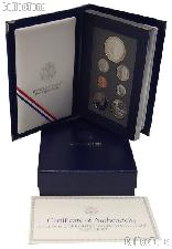1993 Prestige Proof Set 7 Coins