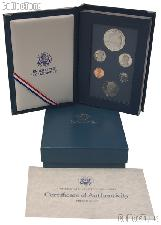 1987 Prestige Proof Set 6 Coins