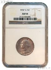 1932-S Washington Silver Quarter KEY DATE in NGC AU 55