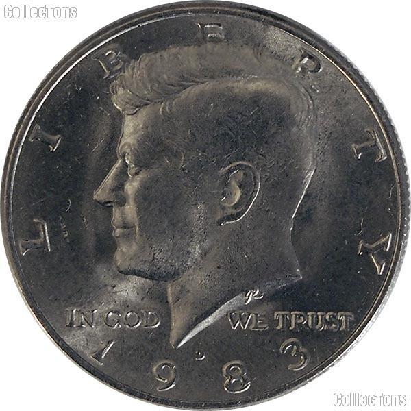 1983-D Kennedy Half Dollar Circulated Coin Good or Better
