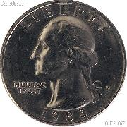 1983-P Washington Quarter Circulated Coin Good or Better