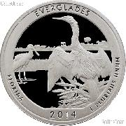 2014-S Florida Everglades National Park Quarter GEM PROOF America the Beautiful