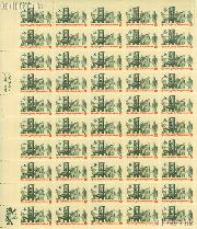 1973 Rise of the Spirit of Independence - Printers and Patriots Examining Pamphlet 8 Cent US Postage Stamp MNH Sheet of 50 Scott #1476