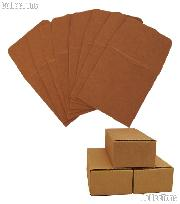 500 2x2 Brown Paper Coin Envelopes for Half Dollars