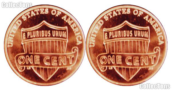 2014 P&D Lincoln Shield Cent - Union Shield Cents