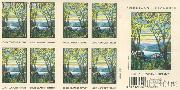 2007 United States American Treasure Series - Magnolia and Irises 41 Cent US Postage Stamp Unused Booklet of 20 Scott #4165A