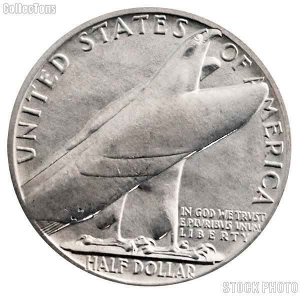 Bridgeport Connecticut Centennial Silver Commemorative Half Dollar (1936) in XF+ Condition
