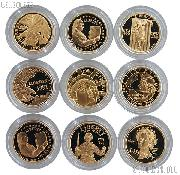 $5 Gold Modern Commemorative Coin - Mixed Dates & Designs