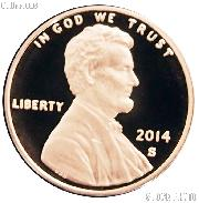 2014-S Lincoln Shield Cent * PROOF Lincoln Union Shield Penny