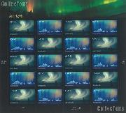 2007 Auroras 41 Cent US Postage Stamp Unused Sheet of 20 Scott #4203 - #4204