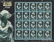 2007 Star Wars Yoda 41 Cent US Postage Stamp Unused Sheet of 20 Scott #4205