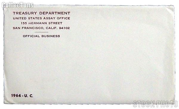 1964 U.S. Mint Uncirculated Set OGP Replacement Envelope