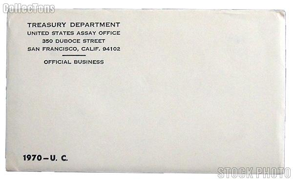 1970 U.S. Mint Uncirculated Set OGP Replacement Envelope