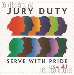 2007 Jury Duty 41 Cent US Postage Stamp Unused Sheet of 20 Scott #4200