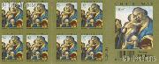 2008 Christmas Virgin and Child with the Young John the Baptist 42 Cent US Postage Stamp Unused Booklet of 20 Scott #4359A